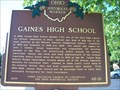 Image for Gaines High School / Peter H. Clark