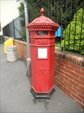 Image for Victorian Post Box - High Street - Caerleon, Wales