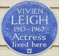 Image for Vivien Leigh - Eaton Square, London, UK