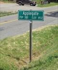 Image for Applegate, CA - Pop 300