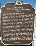 Image for Belmont Wisconsin Territory 1836 - First Capitol Park - Belmont, WI