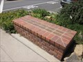 Image for Downtown Colfax Brick Seat - Colfax, CA