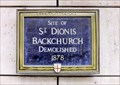 Image for St Dionis Church - Lime Street, London, UK