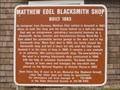 Image for Matthew Edel Blacksmith Shop