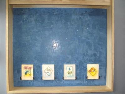 .01: Pelorus .02: Mercator artwork located inside the Broadview Library