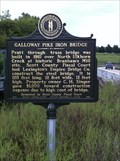 Image for Galloway Pike Iron Bridge