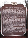 "Image for The Name ""Wisconsin"""