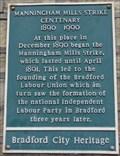 Image for Manningham Mills Strike Centenary - Bradford, UK