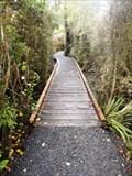 Image for Anderson Park Bush Walk — Bridge No. 1 — Invercargill, New Zealand