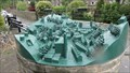 Image for Town And Surrounding Area 3D Map Table - Marsden, UK