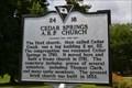 Image for Cedar Springs A.R.P. Church