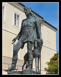 Image for Founder of the city and his greyhound - Nové Mesto nad Metují, Czech Republic