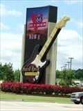 Image for Ginormous Guitar - Hard Rock Casino - Tulsa, Oklahoma, USA