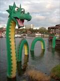 Image for Lego Ness Monster - LEGO Store - Downtown Disney - Lake Buena Vista. FL