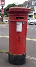 Image for Victorian Pillar Box, West Cliff Road, Bournemouth, Dorset, UK