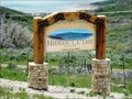 Image for Welcome to Hideout, Utah - Population Sign