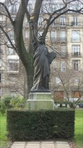 Image for The first Statue of Liberty, Paris, France