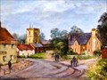 "Image for ""Norton Village"" by May Bradsell – Norton Rd, Norton, Herts, UK"