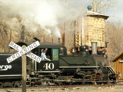 D&RGW Engine #40