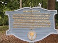 Image for Secession Hill - Abbeville, SC (Abbeville Historic District Marker #38)