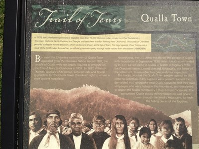 Trail of Tears, Cherokee, North Carolina