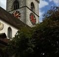 Image for Clocks at St. Johann Church - Schaffhausen, Switzerland