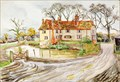 "Image for ""Sutes Farm, near High Cross"" by Irene Hawkins – Sutes Farm, High Cross, Herts, UK"