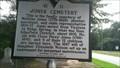 Image for 41-11 Jones Cemetery/General James Jones - Ridge Spring SC