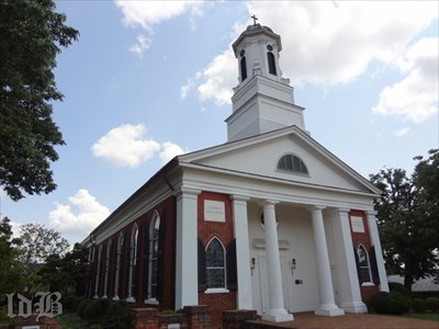 Lee attended services at the St. Thomas Episcopal Church during the Confederate encampment in Orange.