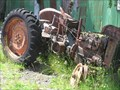 Image for Old Fordson Tractor. Horopito.  New Zealand.