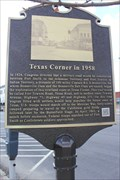 Image for Texas Corner in 1958 -- Ft Smith AR