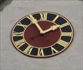 Image for Uhr / Clock Heilig Geist Kirche Ergenzingen, Germany, BW