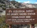 Image for First USGS strteam gaging station