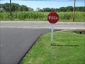 Image for Whoa Sign - Middlefield, Ohio