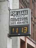 Image for Time & Temp @ First National Bank of Rochester (NY)