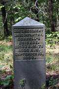 Image for 31st Ohio Infantry Regiment Marker - Chickamauga National Battlefield