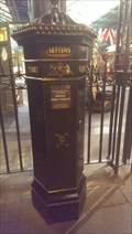 Image for Victorian Post Box - National Railway Museum - York, Great Britain.