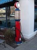 Image for Standard Oil Gasoline Station pumps - Plainfield, IL