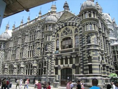 Palacio de le Cultura, Left, Medellin, Colombia