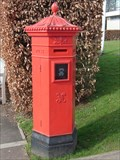 Image for Victorian Pillar Box - St Fagans Museum - Wales.