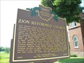 Image for Zion Reformed Church : Marker #8-64
