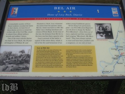 BEL AIR ☆ ☆ ☆ Home of Lucy Buck, Diarist