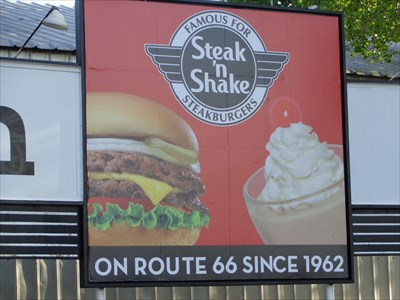 Retro - Steak N Shake - Route 66