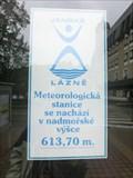 Image for Meteorologic station - Janské Lázne, Czech Republic. 613 m