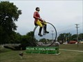 Image for World's Largest Bicyclist - Sparta, WI