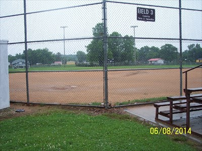 Ball Field 3 at Cassville City Park, by MountainWoods