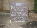 Image for 1st Presbyterian Time Capsule