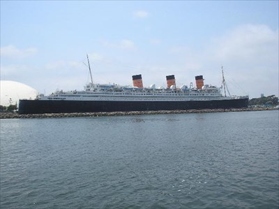 This is what the ship looks like today.  The ship is about 150 feet longer than the Titanic.