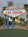 Image for Tourism - Welcome to Fabulous Las Vegas Sign