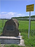 Image for 45th Parallel Plaque.  SH.1. South Island. New Zealand.